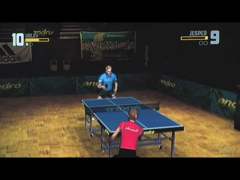 Rockstar Games Presents Table Tennis Nintendo Wii Gameplay