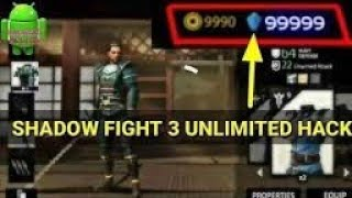 How to hack shadow fight 3 100 percent real(offline)