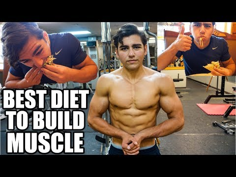 The Best Diet To Build Lean Muscle Mass | Full Day Of Eating