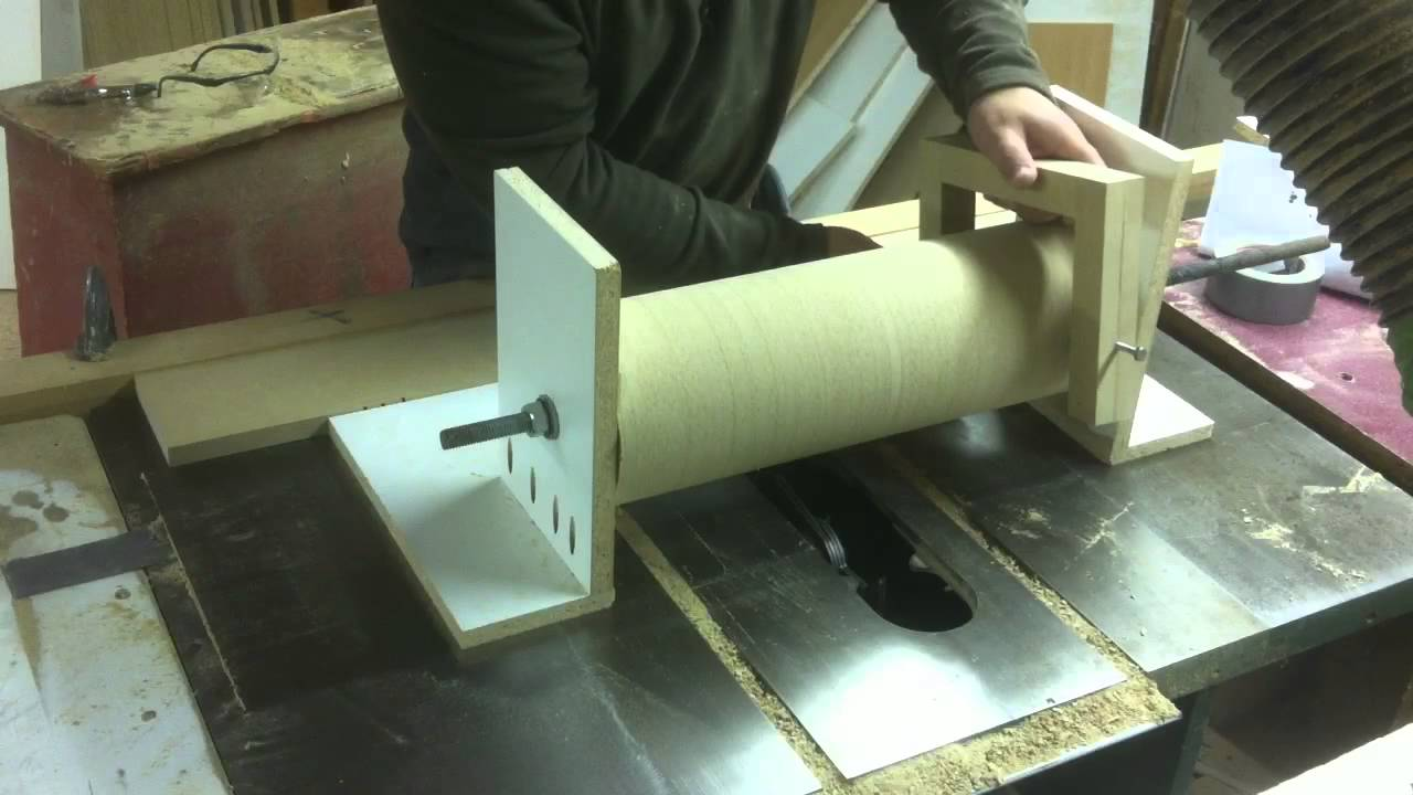 Wooden Tool Man's DIY Drum Sander