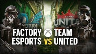 [ES] FACTORY ESPORTS vs. TEAM UNITED   Play Day #5   EliteSix S03 (XBOX)