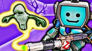 I Caught a Ghost...!!! 👻 (Spooky Ghostbusters game in Roblox)