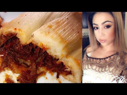 Cooking With Me: How to Make the Best (Easy)Tamales!!!