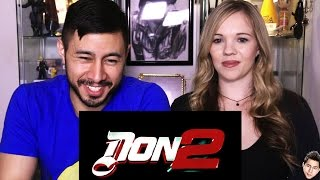 DON 2 trailer reaction review by Jaby & Jess!