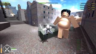 Attack on Titan: Testing 2| MUSIC AND CHILL| ROBLOX