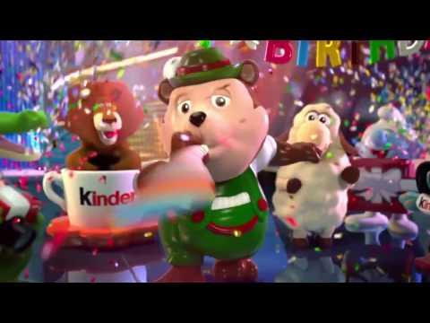 Реклама Киндер Сюрприз  2014г  «Веселый юбилей» «Funny Versary»