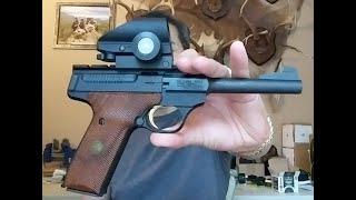 최고 사격용 반자동 권총 .22 구경 브라우닝 벅 마크…