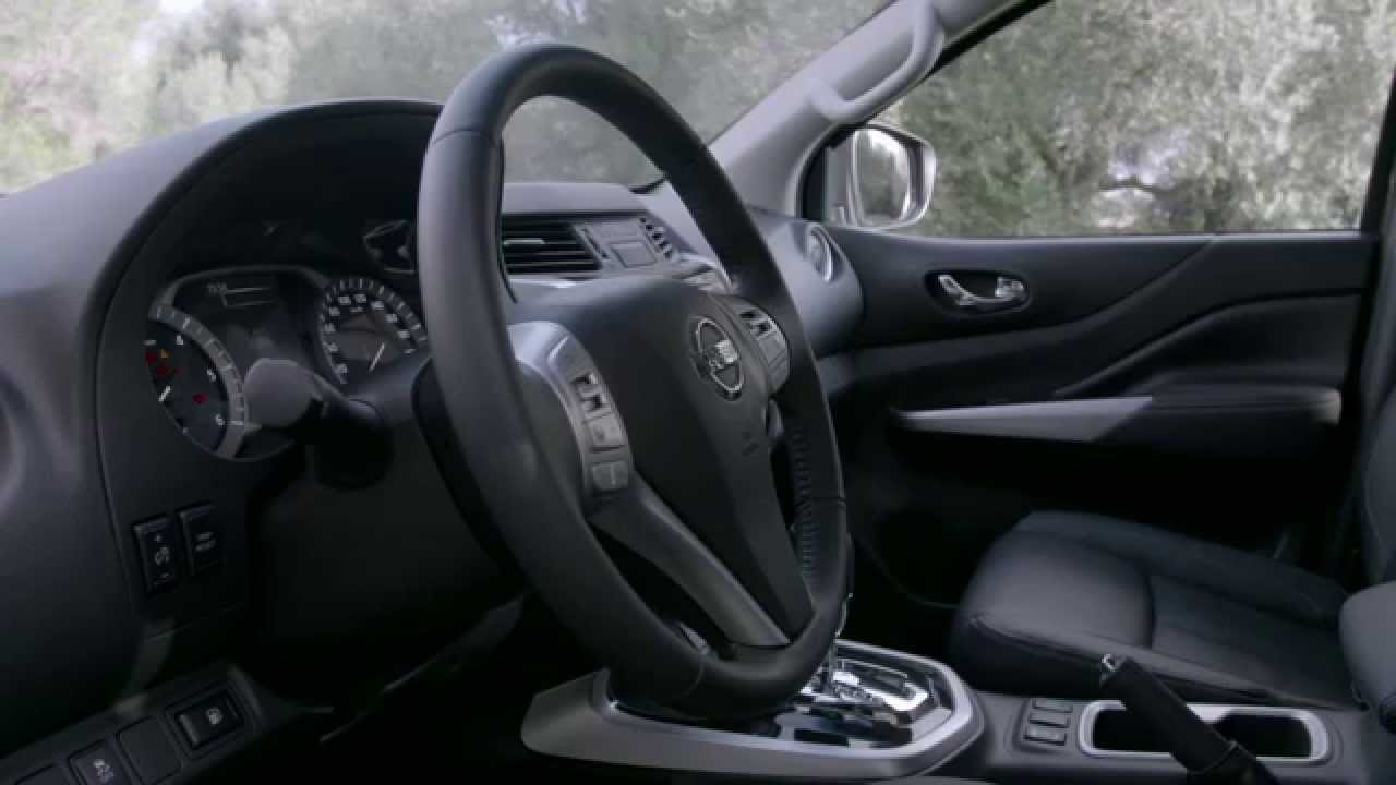2016 nissan np300 navara king cab interior youtube