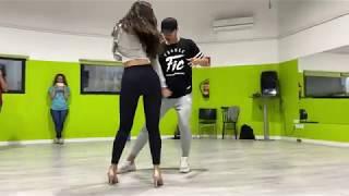 Prince Royce - Carita de Inocente / Yexy Jr. & Alicia WorkShop Bachata Dance