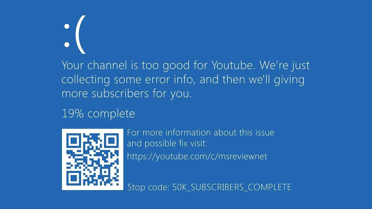 Синий экран смерти - YouTube