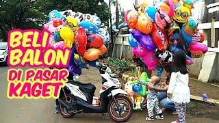 Balita Lucu : Adik Rex & Pixel Jalan-Jalan Ke Pasar Kaget Beli Balon