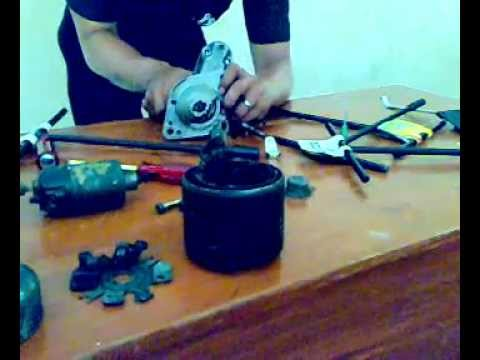 Bongkar pasang Motor Starter (praktikum) Ulumuddin