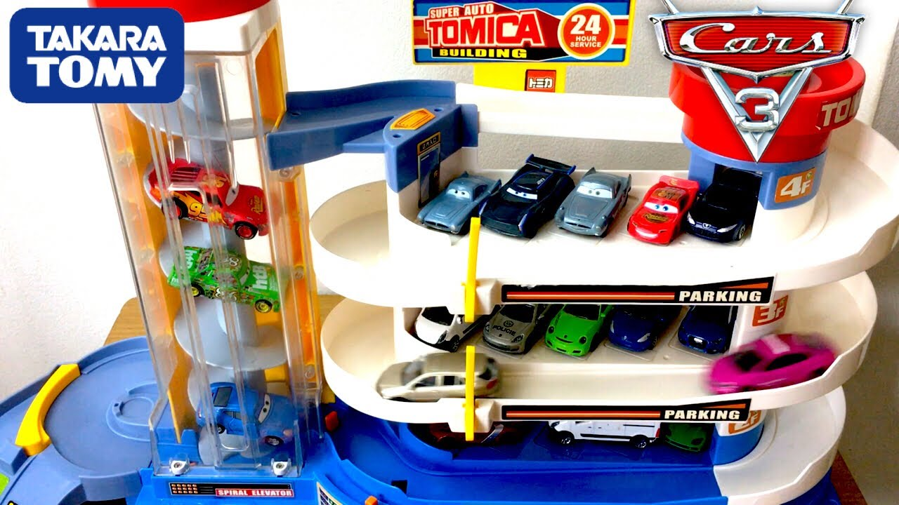Cars3 tomica for Garage auto lyon 7