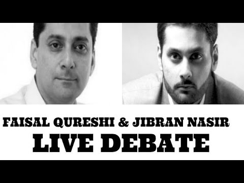 Faisal Qureshi and Jibran Nasir LIVE !