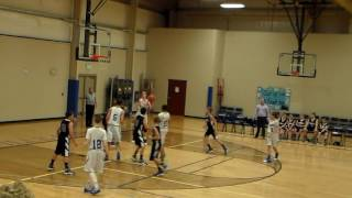 Knoxville Christian School MS Boys HIghlights 2016-17