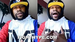 FLOYD MAYWEATHER SPEAKS FOR FIRST TIME SINCE TRAGIC LOSS OF UNCLE & KIDS' MOTHER; GOES LIVE WITH AB