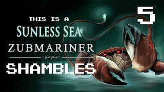 Sunless Sea Zubmariner Ep 5 - Suprise Supplies and Scrimshander (with Liam Welton)