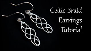 Download Video Celtic Braid Dangle Earrings Tutorial - Easy and Beginner Friendly MP3 3GP MP4