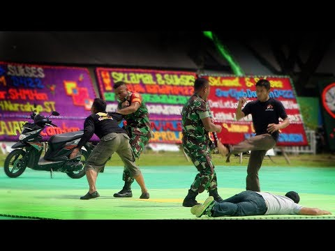 Preman VS Babinsa Yang Dibekali Bela Diri Militer Yongmoodo