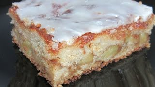 Apple Fritter Cake Recipe ~ Just Like an Apple Fritter! with a Glaze