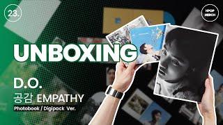 UNBOXING EXO D.O. EMPATHY 1st mini Album (Photobook, DigiPac…