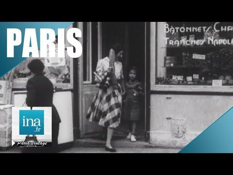 1957 : Le dimanche à Paris | Archive INA
