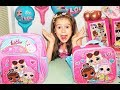 NEW LOL BACKPACK & LUNCH BAG. Surprise Dolls Girls School Bags for Karolina