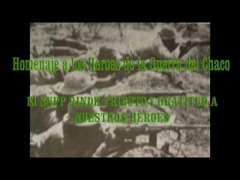 Homenaje a los Heroes de la Guerra del Chaco