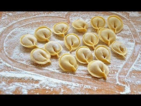 Как заводить тесто на пельмени домашние
