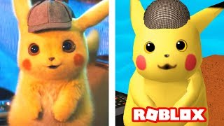 POKÉMON DETECTIVE PIKACHU MOVIE IN ROBLOX