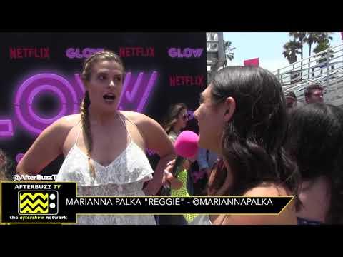 Marianna Palka Talks about Women Empowerment and the Sisterhood of GLOW  AfterBuzz TV