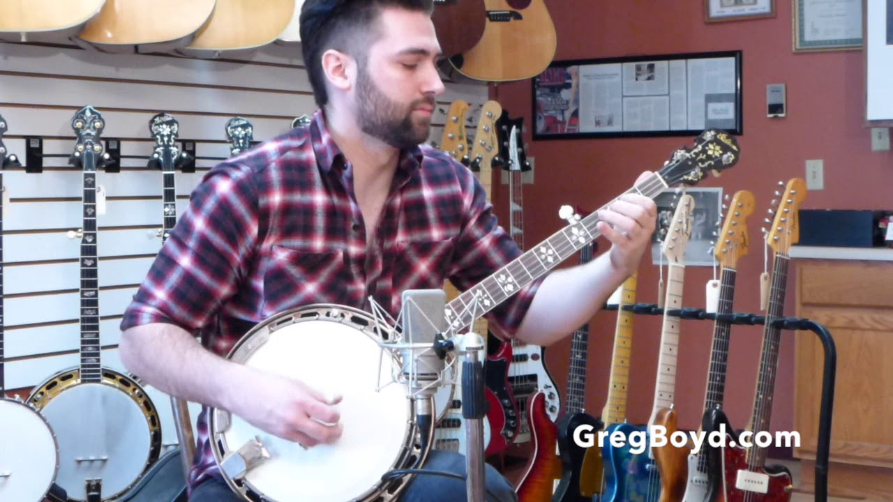 1929 Gibson Mastertone Conversion Banjo with Kalamazoo Neck