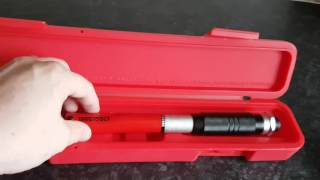 Teng Tools 3/8 torque wrench