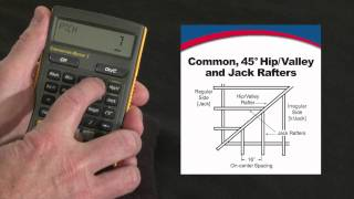 How to do Rafter Calculations -- Commons, Hips/Valleys, Jacks | Construction Master 5