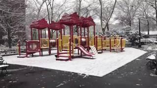 Snow in Brooklyn, NY 2017