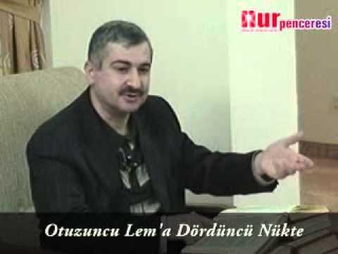 Dr. Burhan Sabaz - Ferd İsmi Nedir, Varlıktaki Tecellisi Nasıldır? - Otuzuncu Lem'a, Dördüncü Nükte
