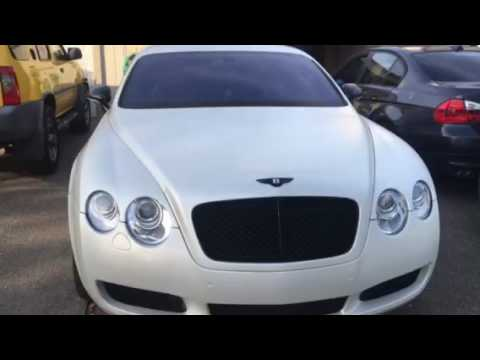 2006 Bentley GT satin pearl white