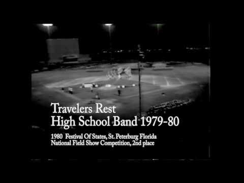 Travelers Rest High School Band 1979-80