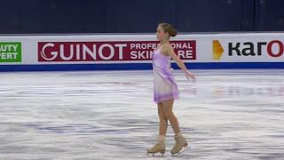 Александра Трусова Короткая программа Женщины Чемпионат мира по фигурному катанию 2021