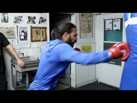 Keith Thurman 's COMPLETE Media Workout for Shawn Porter- Thurman vs  Porter video