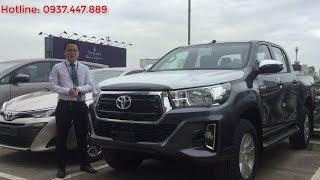 Đánh giá xe Toyota Hilux 2019 2.4E số tự động giá tốt, xe giao ngay
