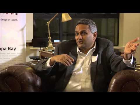 Ashok Kartham (m-ize & TiE Tampa) at Startup Grind Tampa