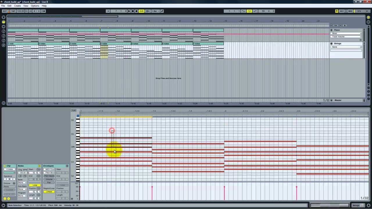 Ableton Live: Create A Building Chord Progression With Any