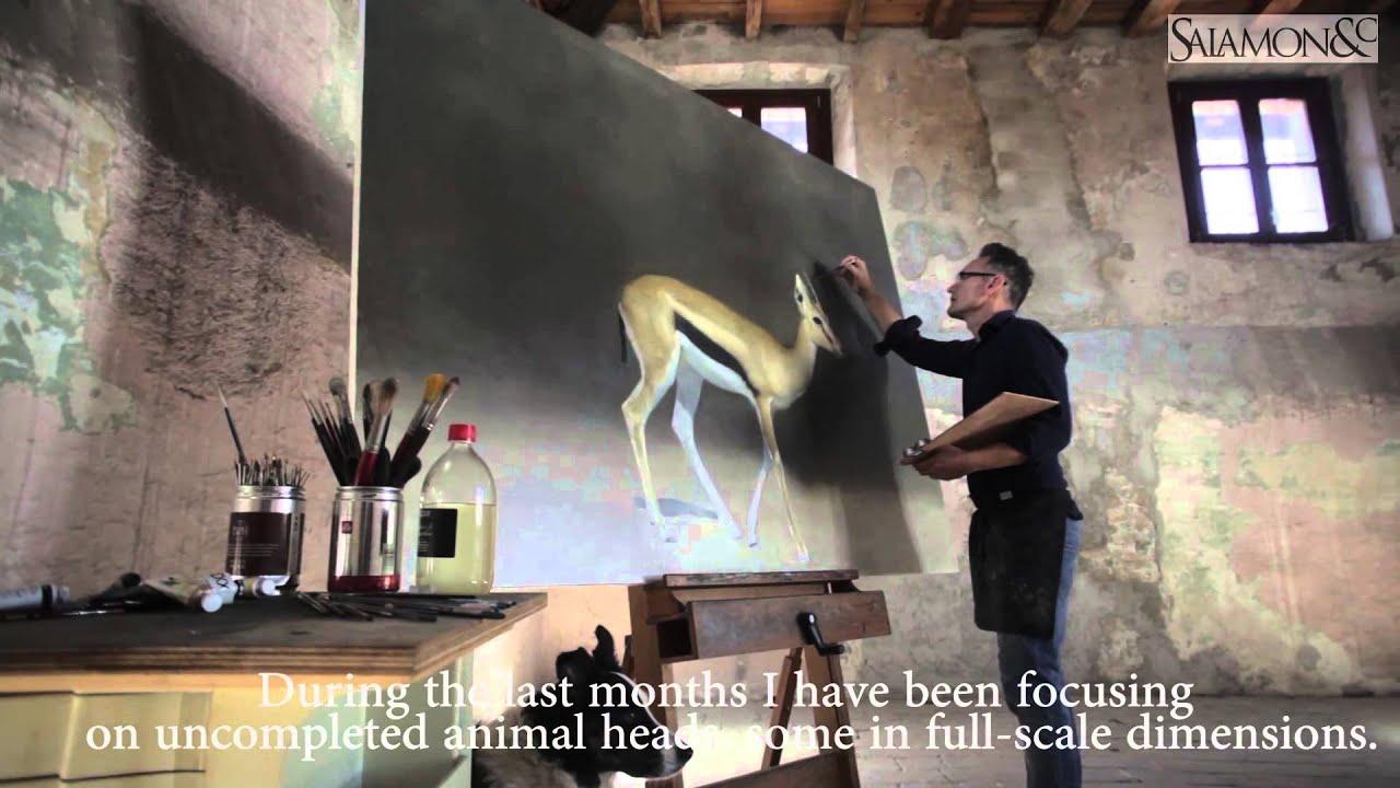 Marzio tamer artista della natura youtube for Marzio tamer