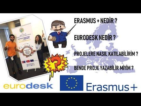 ERASMUS + / EURODESK NEDİR ? ÜCRETSİZ YURTDIŞI FIRSATLARI