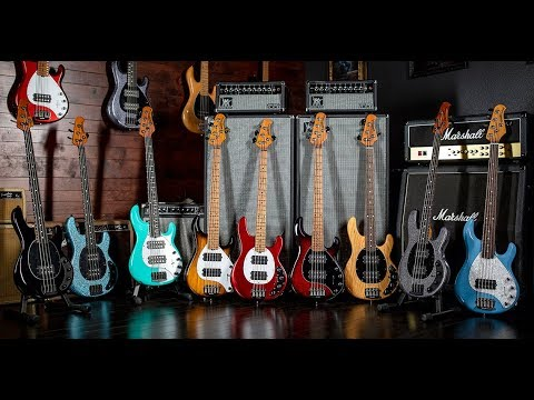 The Build & Sound of the Ernie Ball Music Man StingRay Special Basses