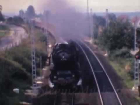 Passenger Steam Train Operations, Osnabrück-Bremen-Hamburg, 1967