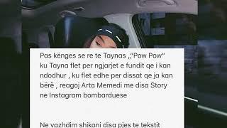 Arta Memedi iu Pergjigjet Taynas Pow Pow