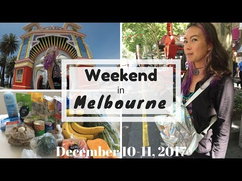 Weekend in Melbourne: Shopping & Eating, mostly!