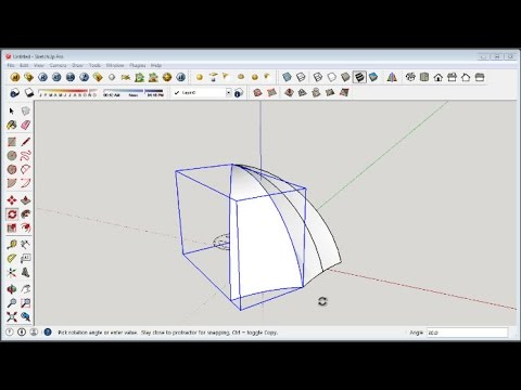 Space Truss Structure Curved Surfaces   SketchUp modeling